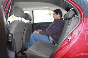 Tata Bolt Rear Seat