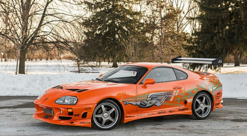 Toyota Supra 2015 Price >> Paul Walker S Toyota Supra Up For Sale Car India