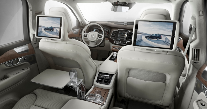 Volvo Xc90 Excellence Revealed Car India India S
