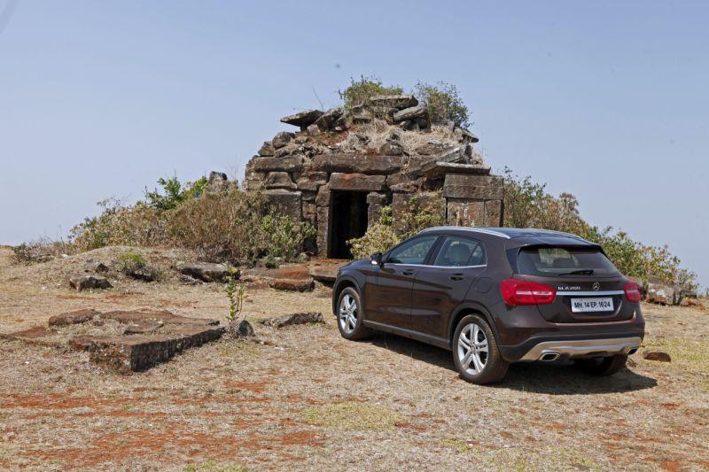 Run to the hills weekend getaway mercedes benz gla for Mercedes benz gla class india