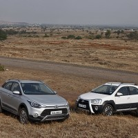 Crossed Paths: Hyundai i20 Active v Toyota Etios Cross Shootout