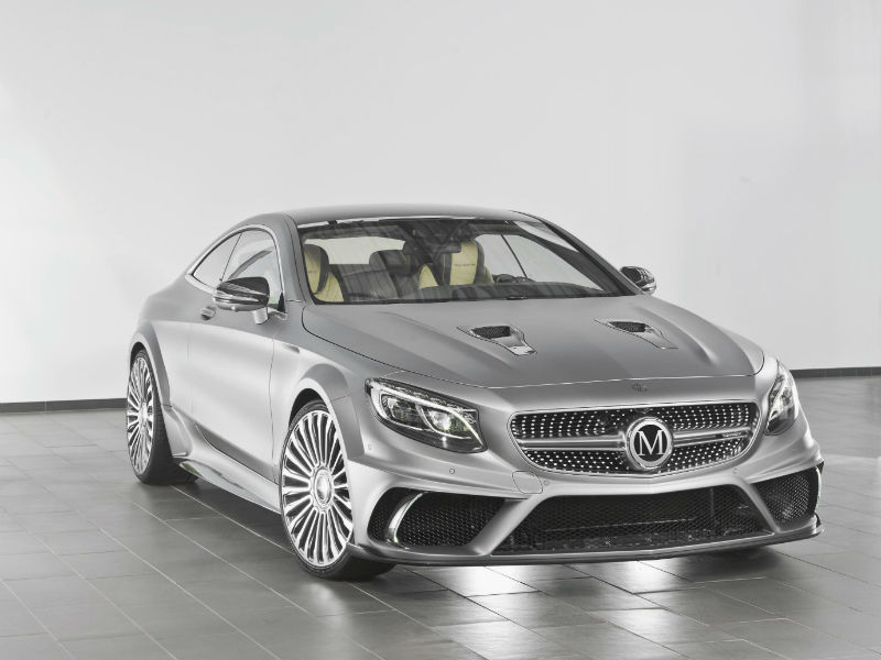 Mansory announce performance upgrades for Mercedes-Benz S63 AMG