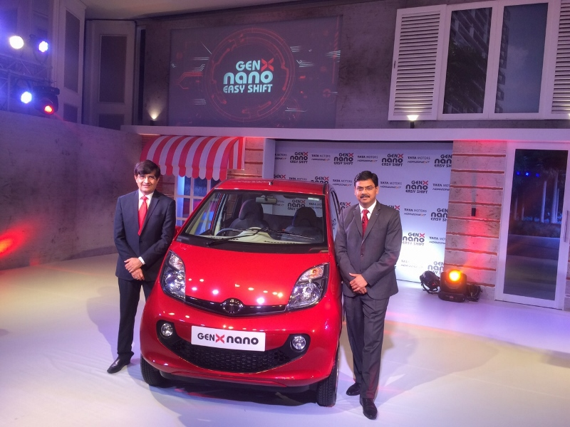 Tata Motors Launch Genx Nano Launch News Car India