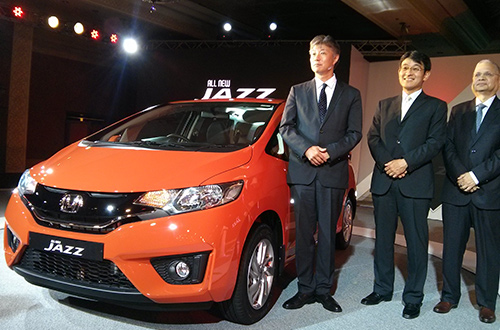 honda launch 3rd generation jazz car india. Black Bedroom Furniture Sets. Home Design Ideas
