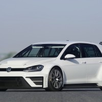 New Volkswagen Golf Ready to Race