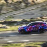 Jaguar unveil F-Pace crossover