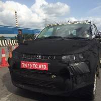 Mahindra S101 Caught Testing