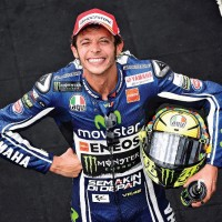 Valentino Rossi is an Honorary Member of the British Racing Drivers' Club