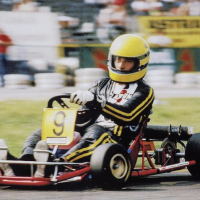 Ayrton Senna's GoKart is back on track