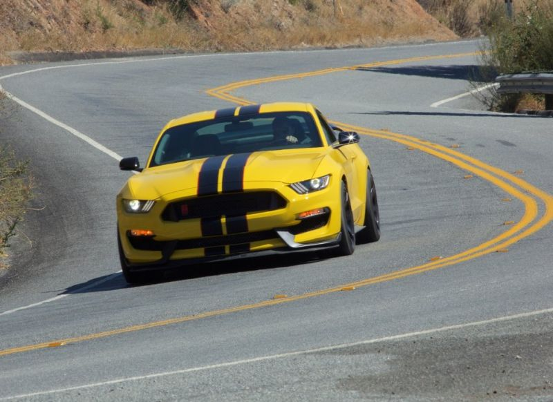 Ford Unveiled The Mustang Shelby Gt350r Car India