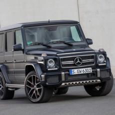 Updated Geländewagen: New Mercedes G-Class