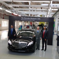 'Make-in-India' Mercedes-Maybach S 500 – The Big One