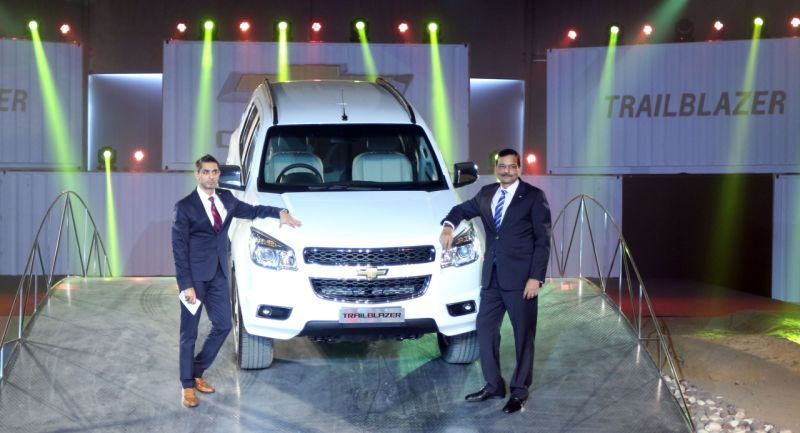 General motors launch new chevrolet trailblazer car for General motors chevrolet customer service