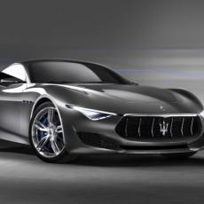 Maserati Alfieri at Dubai Motor Show