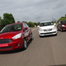 Desire for Amazing Aspirations: Ford Figo Aspire TDCi v Honda Amaze i-DTEC v Maruti Suzuki Swift Dzire DDiS Shootout