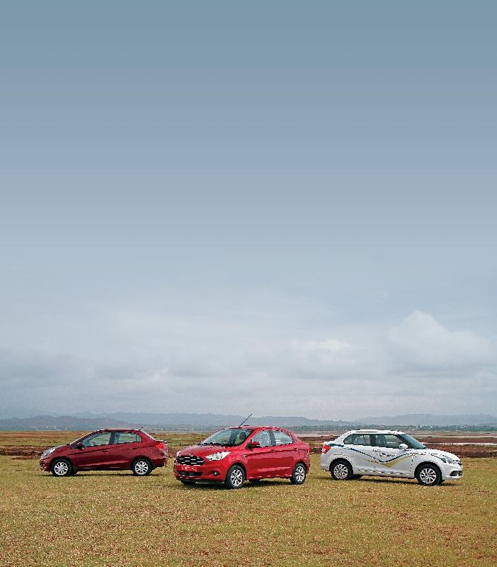 Desire for Amazing Aspirations Ford Figo Aspire TDCi v Honda Amaze i-DTEC v Maruti Suzuki Swift Dzire DDiS Shootout (4)