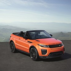 Range Rover Evoque goes topless!