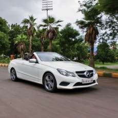 Open-top Elegance:  Mercedes-Benz E 400 Cabriolet Road Test