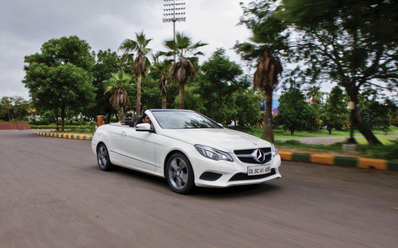 Mercedes E400 Convertible >> Open-top Elegance: Mercedes-Benz E 400 Cabriolet Road Test ...