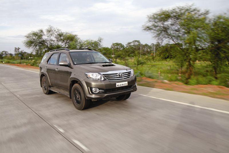 Auto-transmission Evolution: Toyota Fortuner 4x4 AT Road