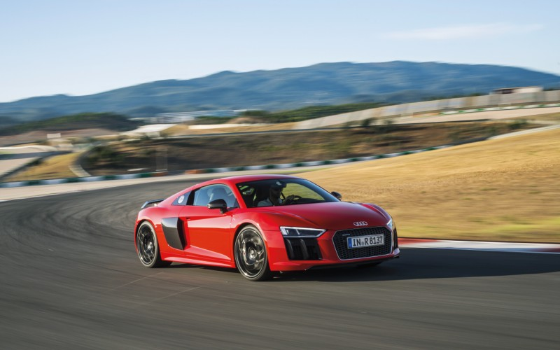 Fastest Production Audi Ever Audi R8 V10 Plus First Drive
