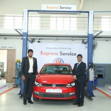 Volkswagen launch an Express Service facility in India