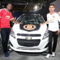 Man Utd legend Louis Saha makes Auto Expo appearance