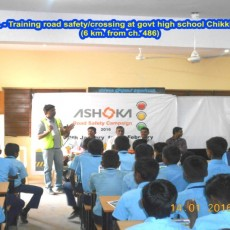 Ashoka Buildcon's month-long Road Safety Campaign 2016 Concludes