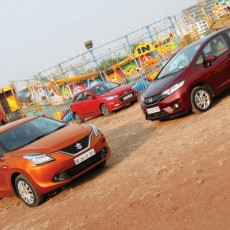 METTLE DETECTOR: Baleno vs Elite i20 vs Jazz