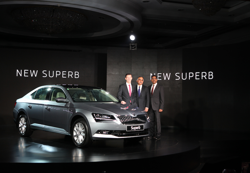 Škoda launch new Superb