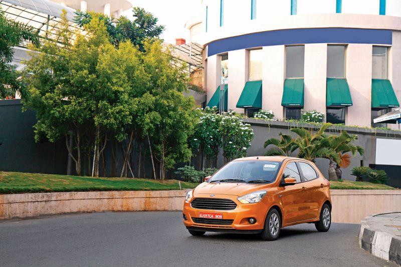 2015 Ford Figo Automatic Car India review web 1