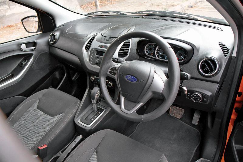 2015 Ford Figo Automatic Car India Review Web 6
