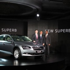 New Škoda Superb launched