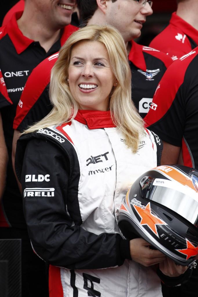 MOTORSPORT - F1 2012 - AUSTRALIAN GRAND PRIX - MELBOURNE (AUS) - 15 TO 18/03/2012 - PHOTO : FREDERIC LE FLOC'H / DPPI - DE VILLOTA MARIA (ESP) TEST DRIVER - AMBIANCE - PORTRAIT