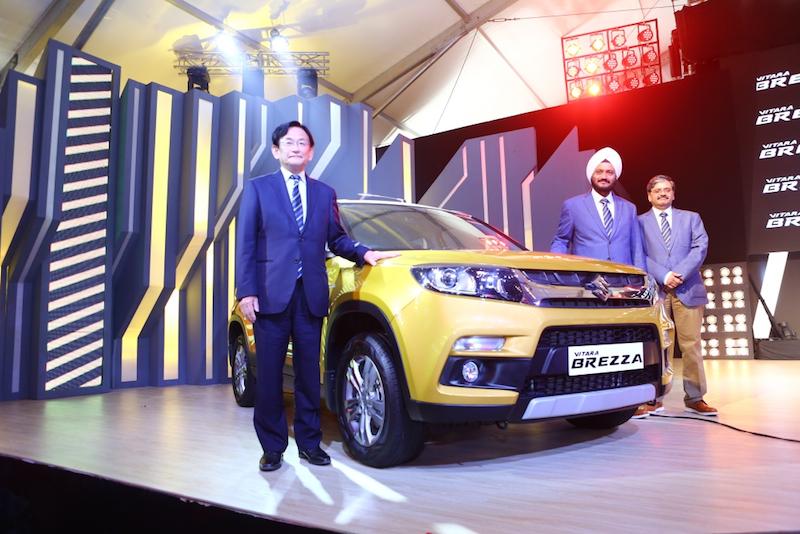 Maruti Suzuki Vitara Brezza Launched