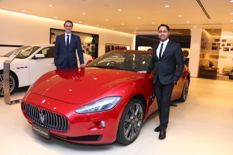 Petal Maserati Opens Doors in Mumbai