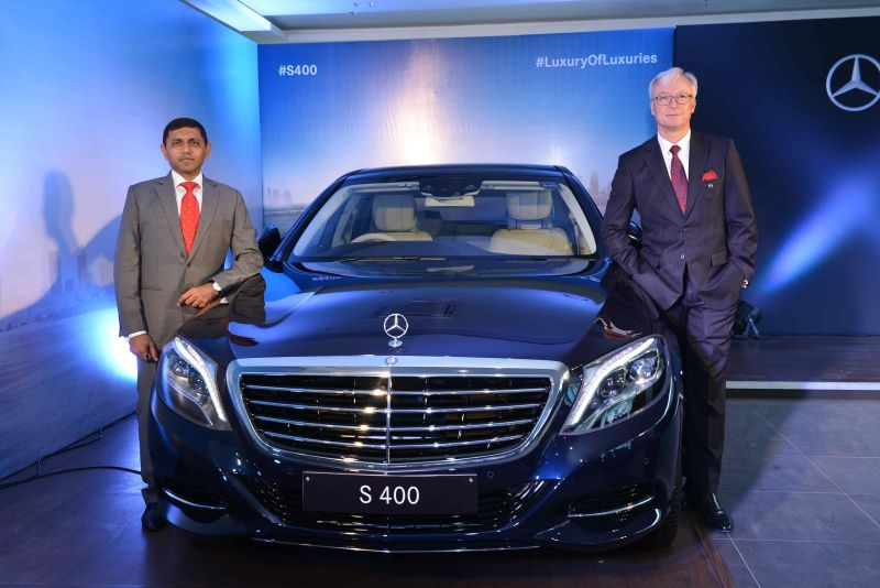 Mercedes-Benz India Launch the New S400
