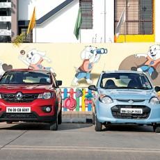 Renault Kwid v Maruti Suzuki Alto 800: Shootout