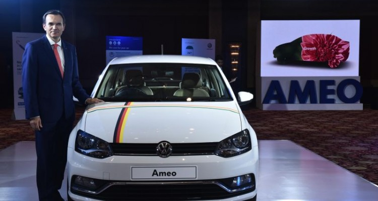 VW launch Ameo mobile app