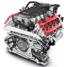 4.2 litre V8 FSI engine