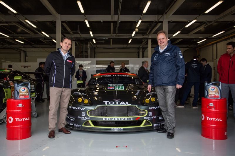 Aston Martin name Total their Official Lubricant and Technical Partner