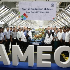 Volkswagen Ameo's Production Starts