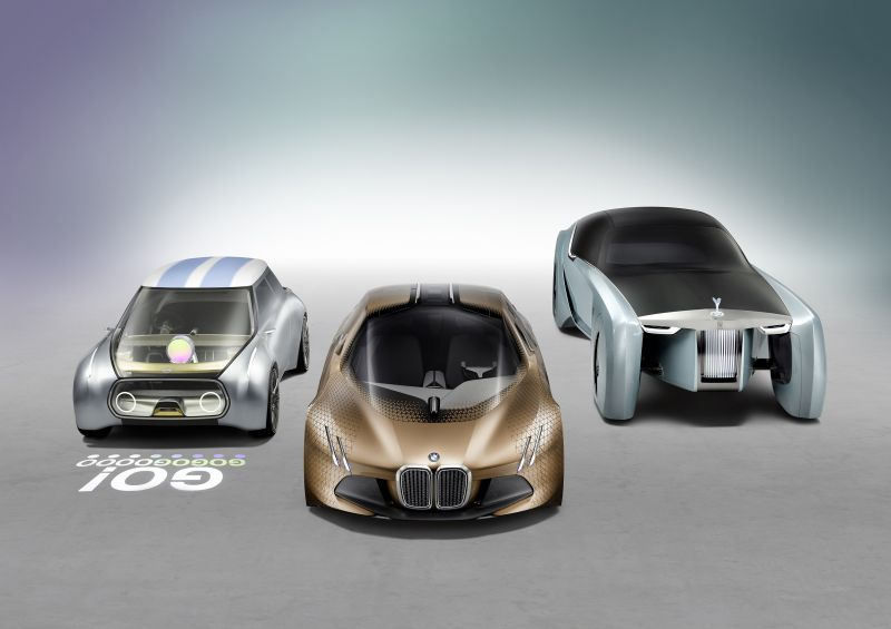 BMW unveil Vision Next 100 series