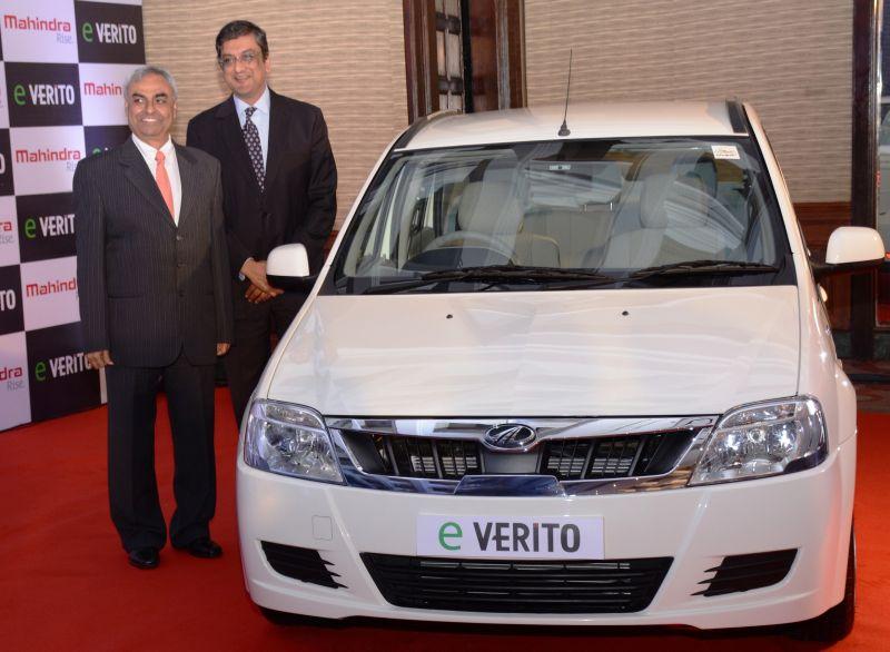 Mahindra launches eVerito
