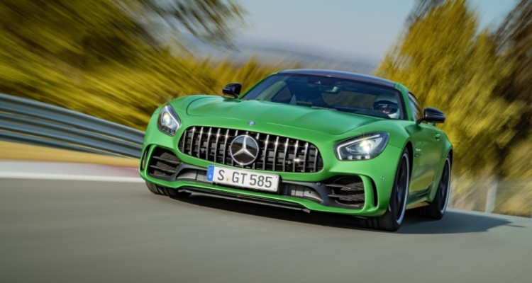 Mercedes-AMG GT R makes début as 'Beast of the Green Hell'