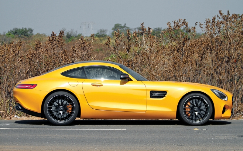 Mercedes-AMG GT S web side