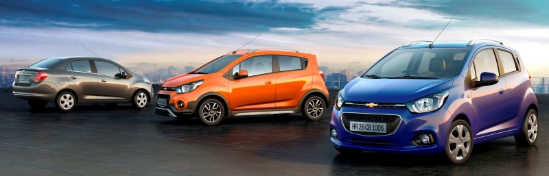 Chevrolet announce new models for India