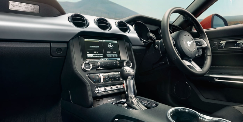 Ford Mustang Gt India Interior Web