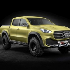 Mercedes-Benz Concept X-Class Revealed