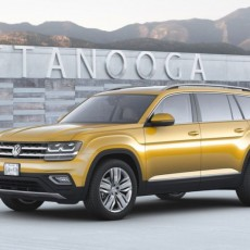 Volkswagen Cross Over With New Atlas